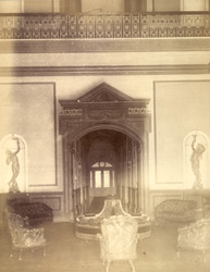 Hamid Manzil - Fort. Entrance Hall [Rampur]